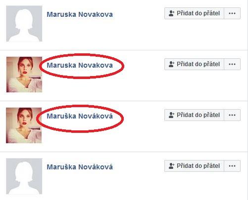 Falešné profily