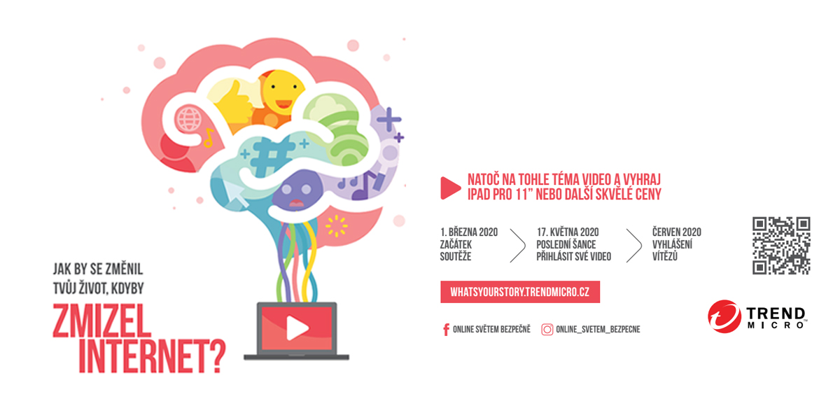 Jak by se ti změnil život, kdyby zmizel internet? Trend Micro v soutěži upozorňuje mladé Čechy  na výzvy současnosti